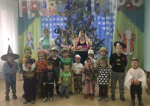 Колядки в детском саду